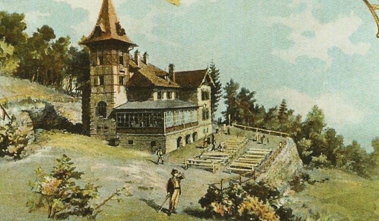 Schronisko na Szyndzielni - stare zdjęcie