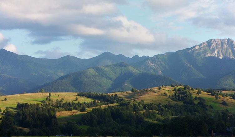 Fragment panoramy z Harendy